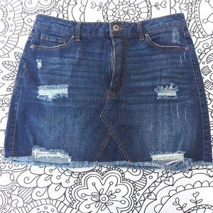 Jean skirt stretch denim Wax Jeans size 7